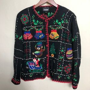 Designers Originals Studio Ugly Sweater Small